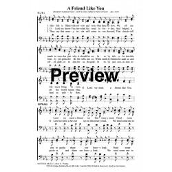 A Friend Like You-PDF Song Sheet