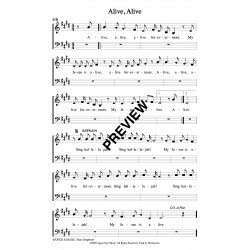 Alive Alive-PDF Sheet Music