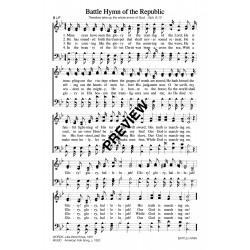 Battle Hymn of the Republic-PPT Sheet Music