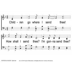 Children Go Where I Send Thee-PPT Slides