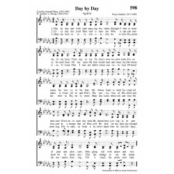Day By Day-PDF SONG SHEET