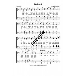 Do Lord-PDF Sheet Music