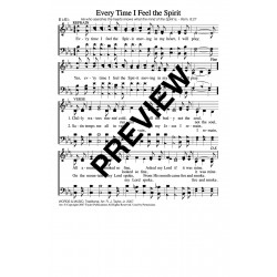 Every Time I Feel the Spirit-PDF Song Sheet