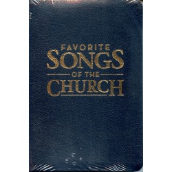 Favorite Songs of the Church Leather Flex Blue