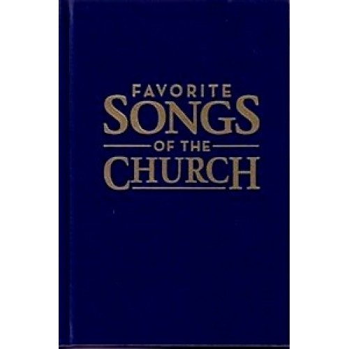 Favorite Songs of the Church hymnal Blue