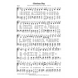 Glorious Day - PDF Song Sheet