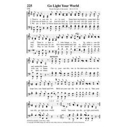 Go Light Your World PDF - Song Sheet