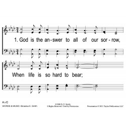 God Is the Answer - PPT Slides