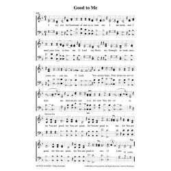 Good to Me - PDF Song Sheets