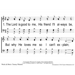 He's so Good to Me - PPT