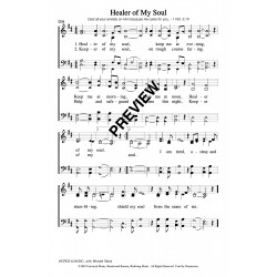 Healer of My Soul-PDF Sheet Music