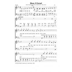 Hear O Israel - PDF Song Sheet