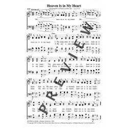 Heaven is In My Heart-PDF Song Sheet