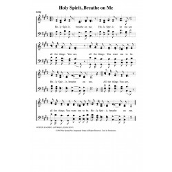 Holy Spirit Breathe on Me-PDF Song Sheet