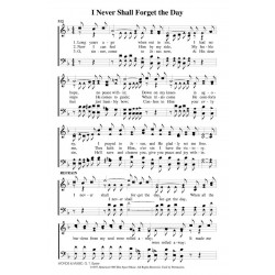 I Never Shall Forget the Day-PDF Song Sheet