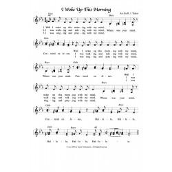 I Woke Up This Morning-PDF Sheet Music
