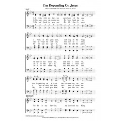 I'm Depending on Jesus - PDF Song Sheet