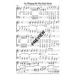 I'm Winging My Way Back Home-PDF Sheet Music