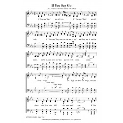 If You Say Go-PDF song sheet