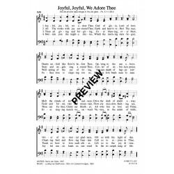Joyful Joyful We Adore Thee-PDF Sheet Music