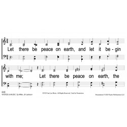 Let There Be Peace-PPT Slides