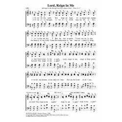 Lord Reign in Me - PDF Song Sheet