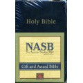 NASB Gift-Award Bible Black B5020