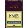 NASB Gift-Award Bible Burgundy B5021