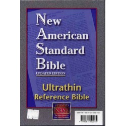 NASB Ultrathin Reference Black/Leather B5006