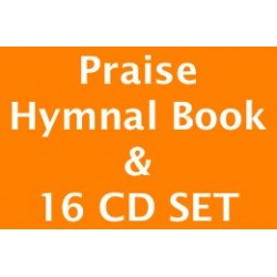 Set of 16 CDs for Praise Hymnal 2017 & Book