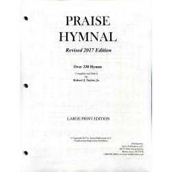 Praise Hymnal 2020 Large Print Loose Leaf