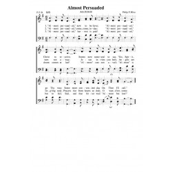 Almost Persuaded - PDF Song Sheet