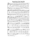 Battle Hymn of the Republic - PDF Song Sheet