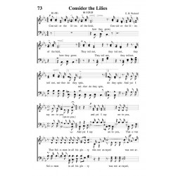 Consider the Lilies - PDF Song Sheet