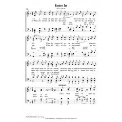 Enter In - PDF Song Sheet