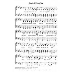 God of ThIs City - PDF Song Sheet