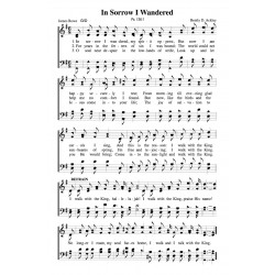 In Sorrow I Wandered - PDF Song Sheet