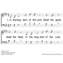In the Kingdom of the Lord - PPT Slides