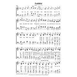 Faithful (Let us Be) - PDF Song Sheet