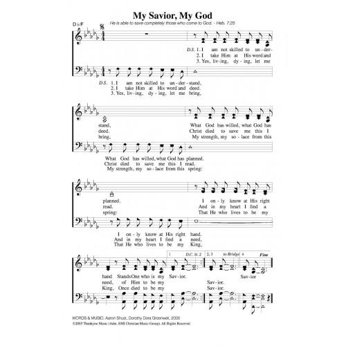 My Savior, My God - Aaron Shust (Christian Accompaniment ...