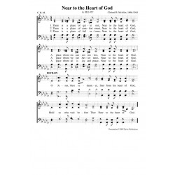 Near to the Heart of God - PDF Song Sheet