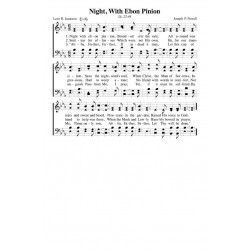 Night With Ebon Pinion - PDF Song Sheet