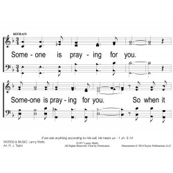 Someone is Praying for you-PPT Slides