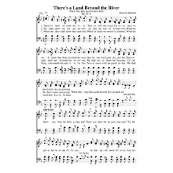 There's a Land Beyond the River - PDF Song Sheet