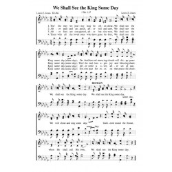 We Shall See the King Some Day - PDF Song Sheet