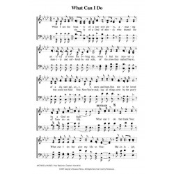 What Can I Do? - PDF Song Sheet