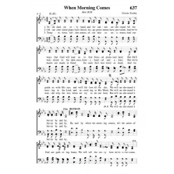 When Morning Comes - PDF Song Sheet
