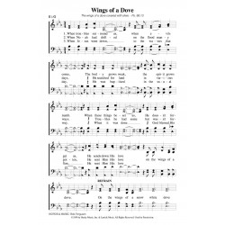 Wings of a Dove - PDF Song Sheet