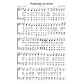 Wonderful City of God - PDF Song Sheet