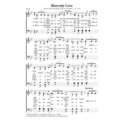 Heavenly Love - PDF SONG SHEET